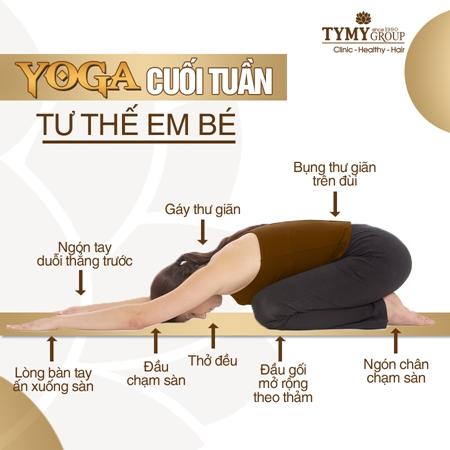 Tư thế yoga cuối tuần