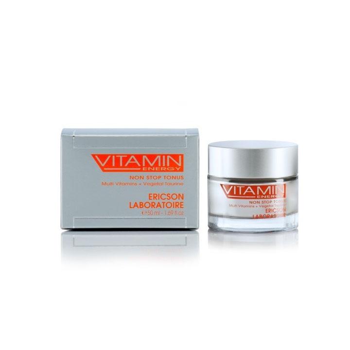Kem dưỡng làm sáng da, làm mượt nếp nhăn - Ericson Vitamin Energy Non Stop Tonus 50ml