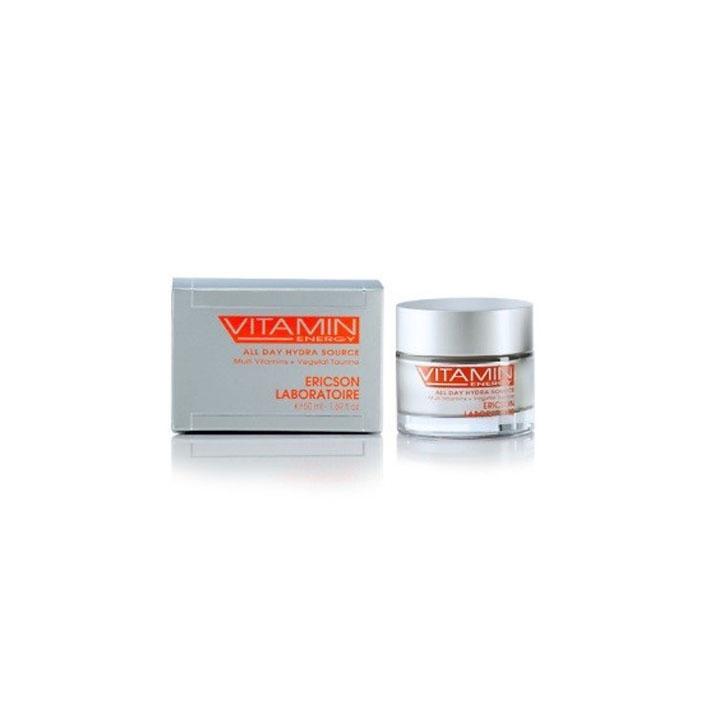 Kem giữ ẩm dịu nhẹ - Ericson Vitamin Energy All Day Hydra Source 50ml