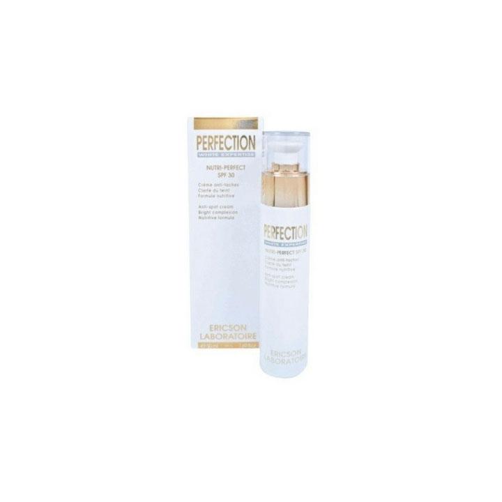 Kem trị nám, ức chế tăng sắc tố, nuôi dưỡng, làm sáng và bảo vệ da - Ericson Perfection Nutri-Perfect Cream Spf 30 50ml